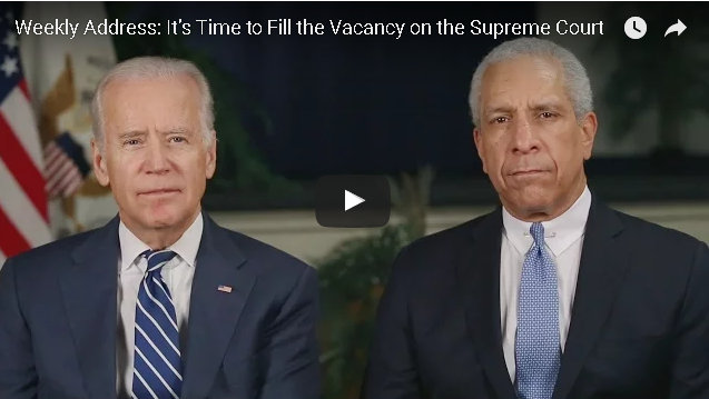 Weekly Address: It's Time to Fill the Vacancy on the Supreme Court