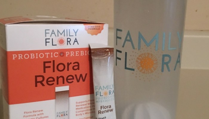 Boosting My  Immune System  With Family Flora