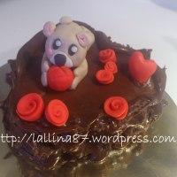 Ricotta, pere e cioccolato per un dolce cuore di San Valentino