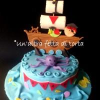 Torta pirati con cupckes abbinati!