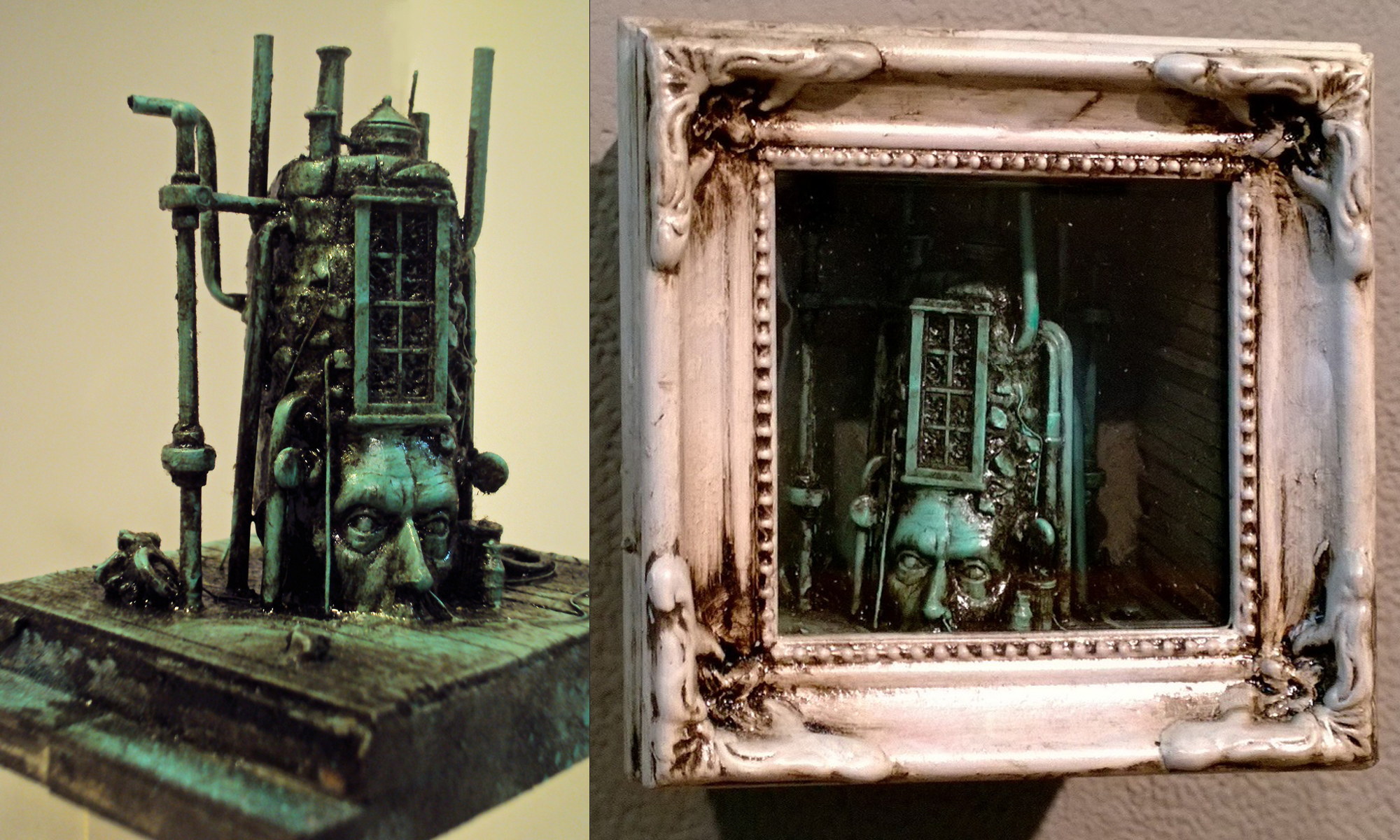 2.5 x 2.5 x 3 in. assemblage $400.00
