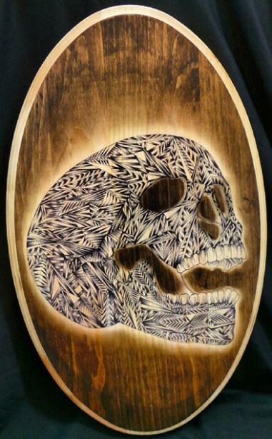 Dave Warshaw - Skull