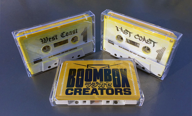 Boombox Creators Mix TapesCassette-only edition of 100 each. $20 each