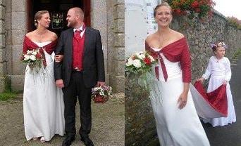 robe-de-mariee-corset-boheme-soie-ivoire-bolero-long-volutes-rouge