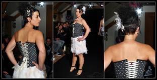 defile-trouzilit-robe-mariee-courte-corset-pois