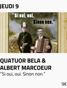Visus site - quatuor bela albert marcoeur texte