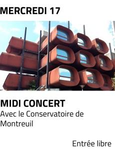 Visus site - midi concert mai