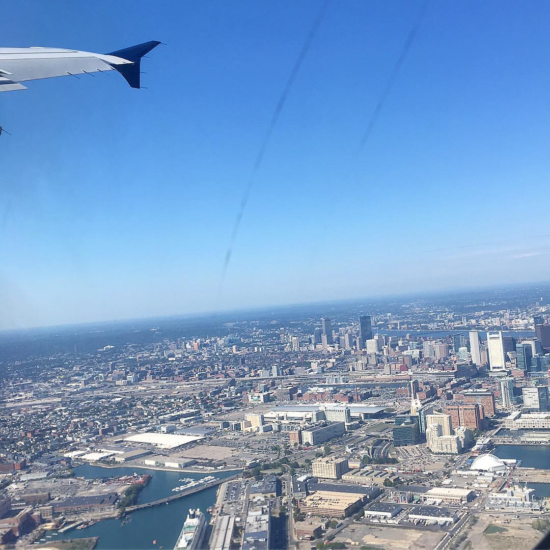 Adios Boston! Were off to the D for the resthellip