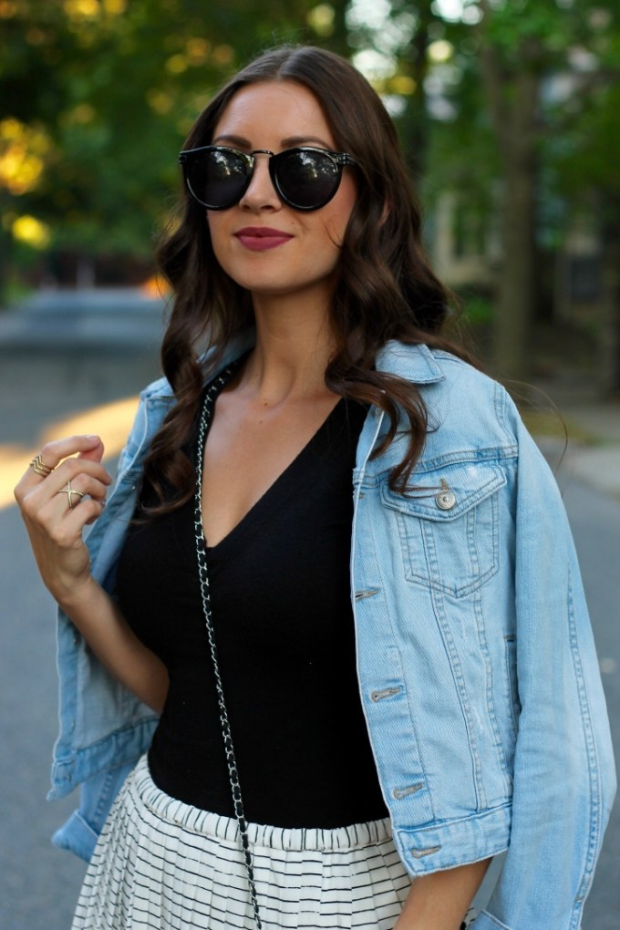 La Mariposa Blog, Kate Spade Retro Round Black Sungasses
