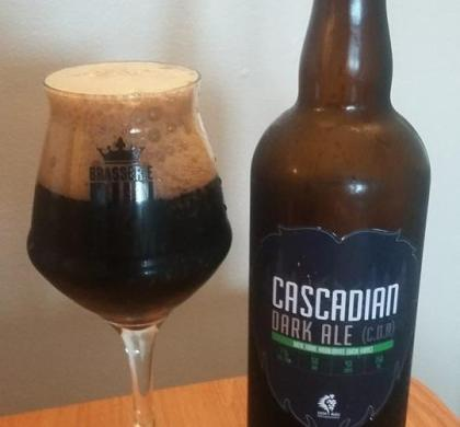 Cascadian Dark Ale du Lion Bleu