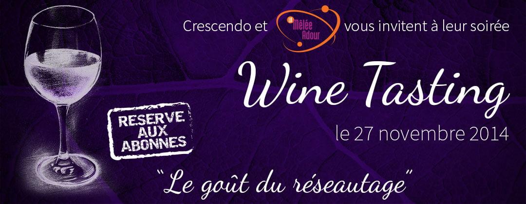 Soirée networking 'Wine Tasting'