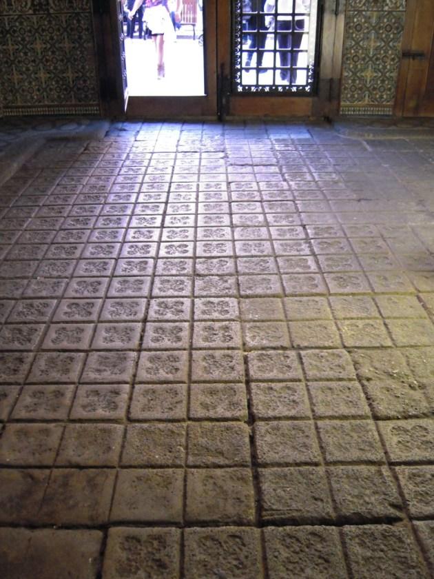 Suelo original de la entrada de la Casa Amatller.
