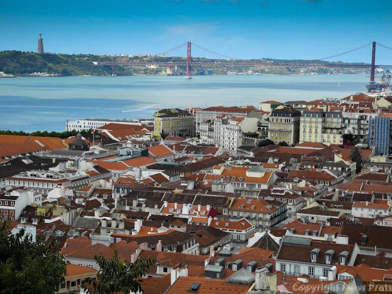 Vistas desde el Castelo de Sao Jorge.