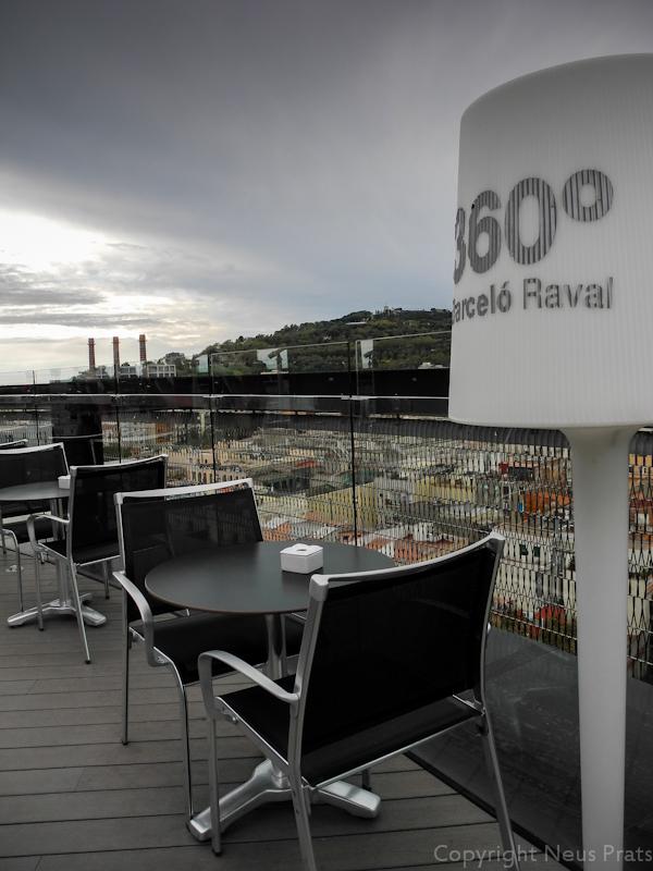 Terraza 360º en la planta 11.