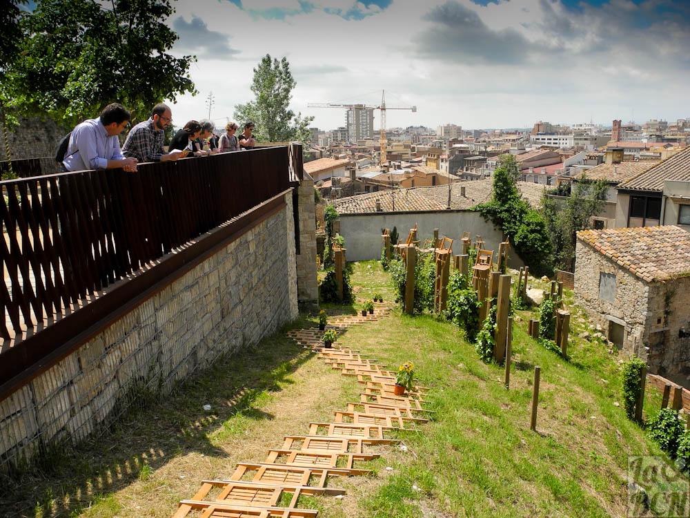 Girona temps de flors: els Jardins dels Alemanys i la part alta de la ciutat
