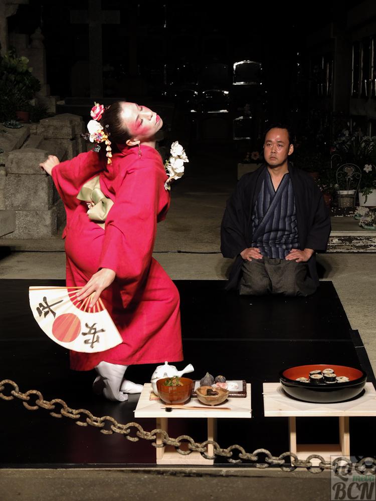 """Representación del cuento japonés """"Agua de vida, agua de muerte"""""""