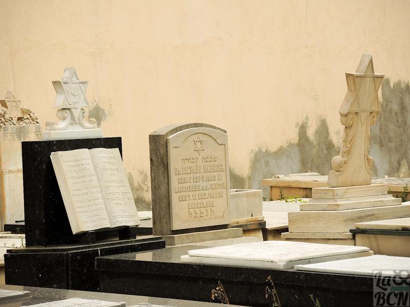 Cementiri hebreu dins del Cementiri de Les Corts