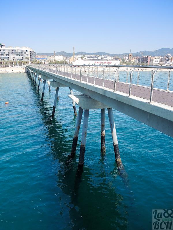 Pont del Petroli. Badalona.