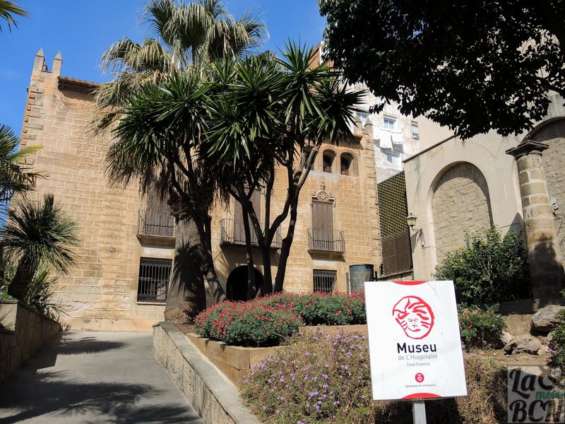 Casa Espanya. Sede del Museu d'Història de L'Hospitalet. Espai d'Història.