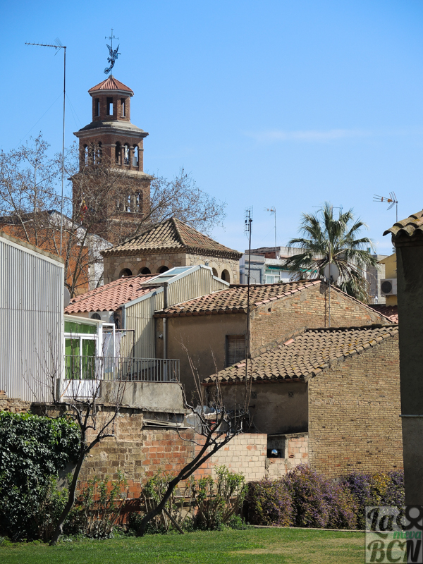 El nucli antic de l'Hospitalet, un petit poblet.