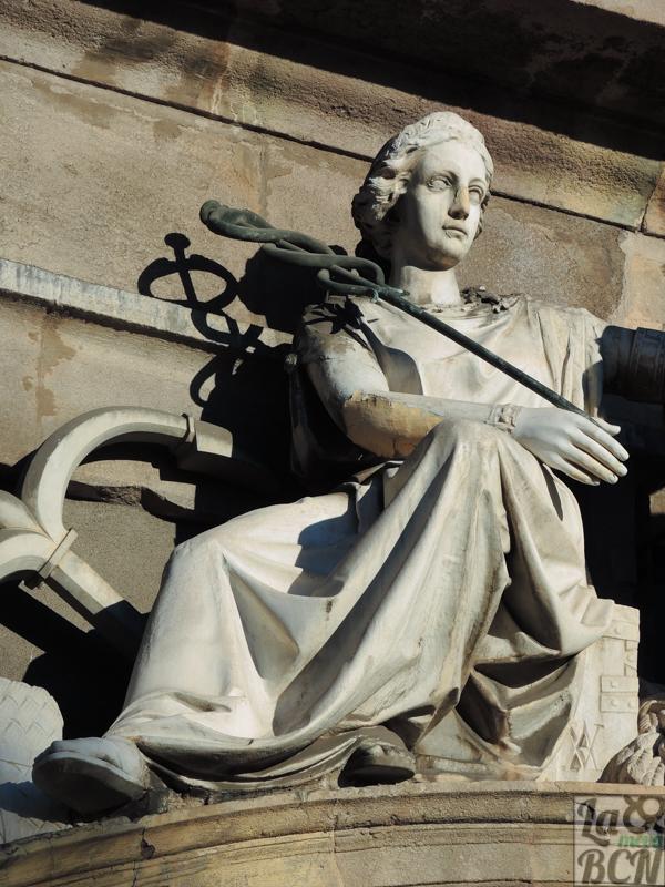 Representación del dios Hermes.
