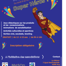 Stage Super Héros ?