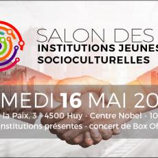 Salon des institutions jeunesses et socioculturelles – 16 mai 2020