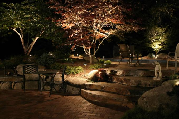 Landscape Lighting Ideas Trees : Outdoor lighting ideas for your home