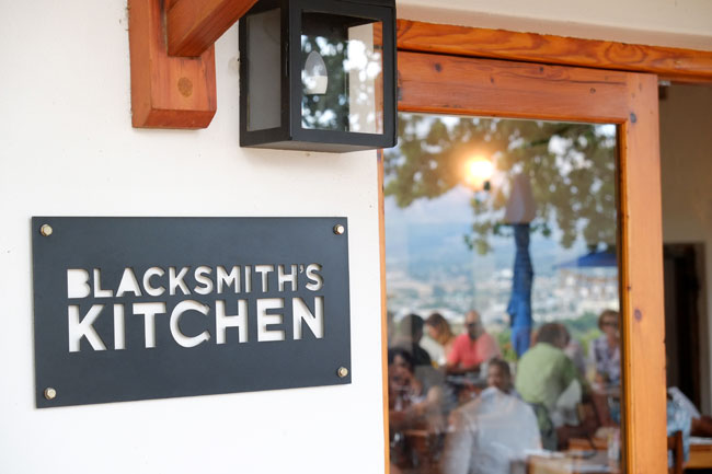Blacksmith's Kitchen, Paarl