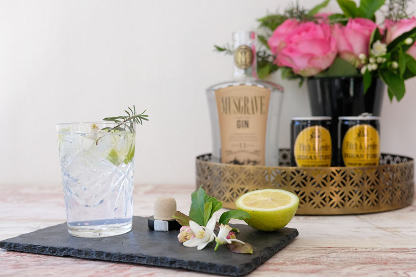 Musgrave Gin cocktail
