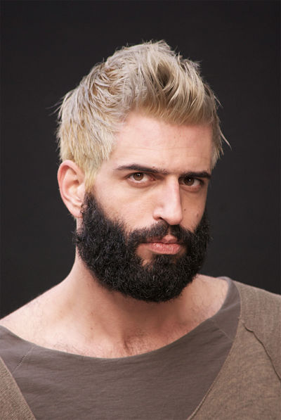 Perfect Stylish Mens Hairstyle With Beard 2016  HairzStyleCom