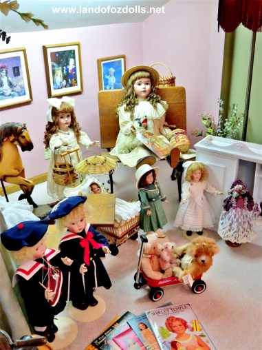 Land of Oz Dolls Doll Room