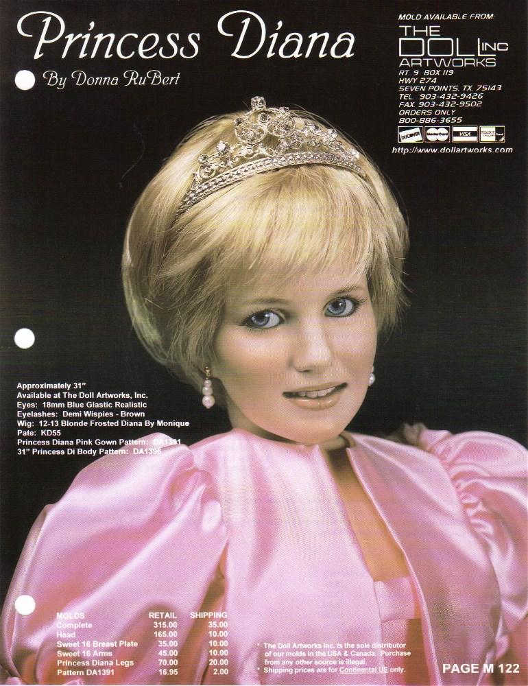 """31"""" Princess Diana"""