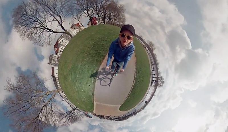 El sorprenent timelapse a 360º amb sis càmares GoPro, de Jonas Ginter