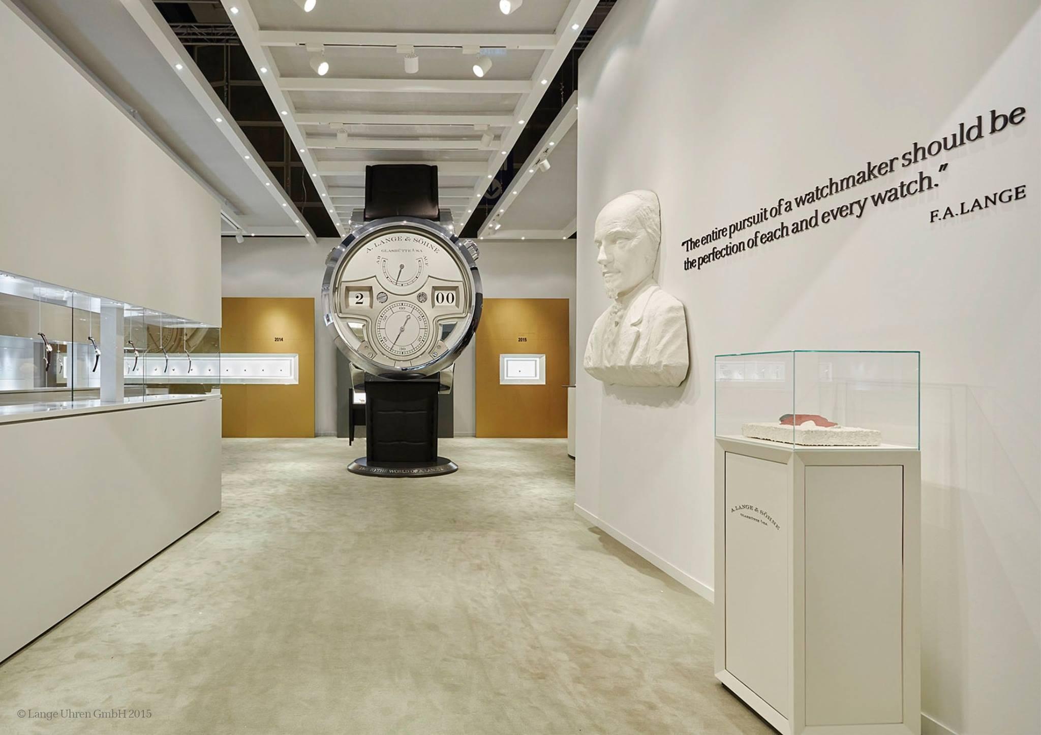 A. Lange & Söhne @ Watches & Wonders 2015