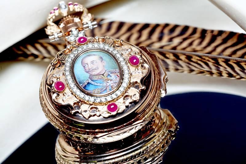 Die Kaiser Wilhelm II. Taschenuhr