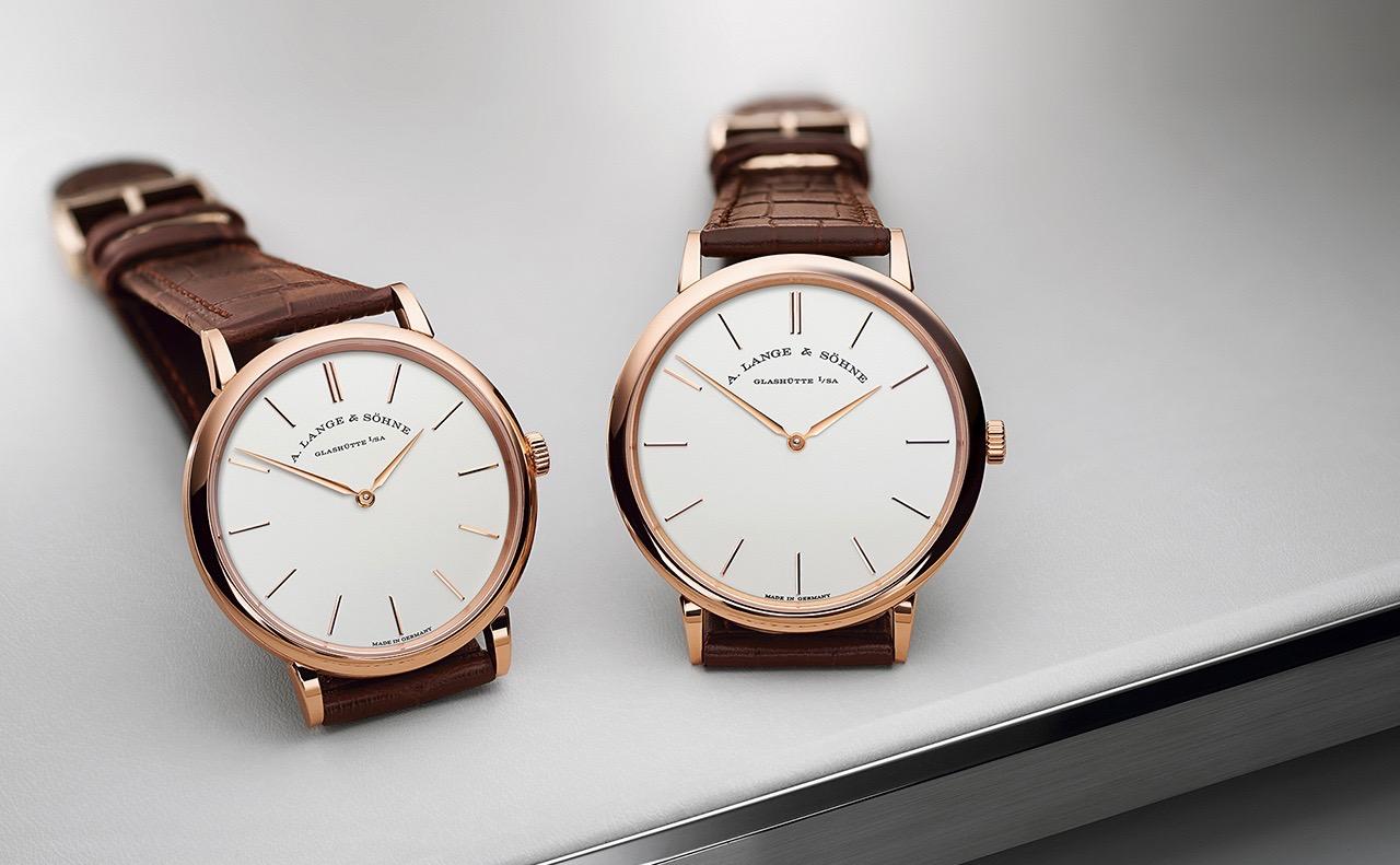 Die Saxonia Thin – Zweizeigeruhr in neuem Design