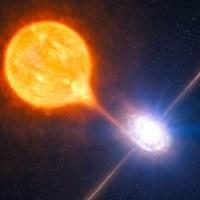 Semburan Bintang Super Kalahkan Lubang Hitam