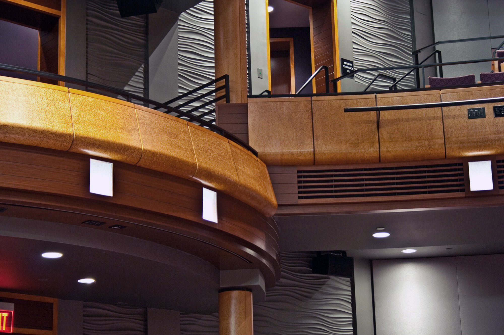 ... the Performing Arts – Main Stage Theatre | Lantz Custom Woodworking