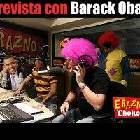 Entrevista de Erazno y la Chokolata con el Presidente Obama
