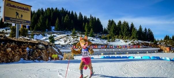 RoBI mascota oficiala a mondialului de Biatlon