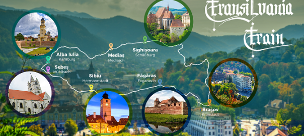 harta Transilvania Train