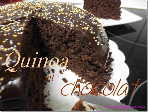 gateau quinoa-choco
