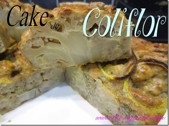 cake de coliflor
