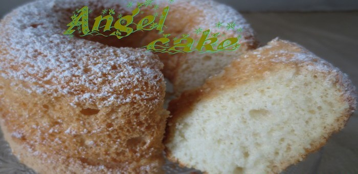 Angel cake (gâteau des anges)