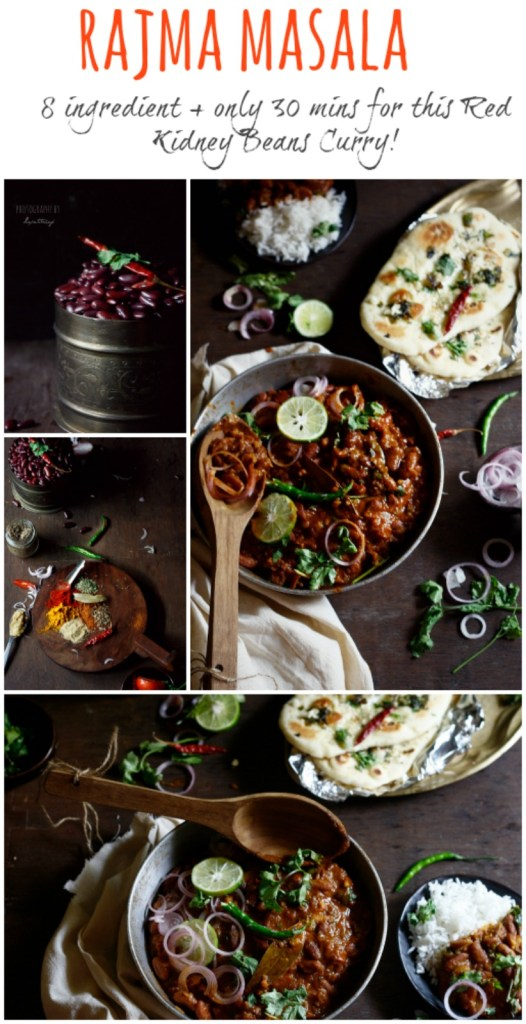Rajma masala, the quintessential comfort food for all North Indians. Red kidney beans cooked in a scrumptious masala or gravy of onions and tomatoes, simmered in garam masala till soft and fragrant. Packed in nutrients and protein, it is the perfect accompaniment to steamed rice and butter garlic naan.