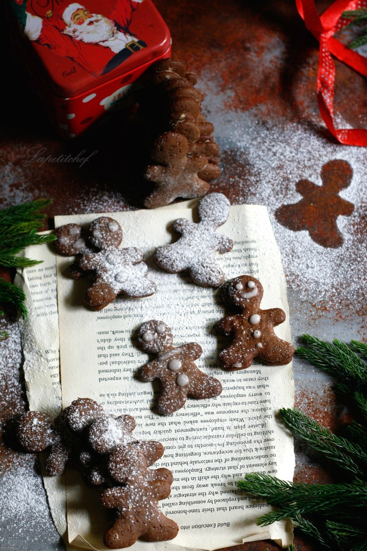 Spiced gingerbreadman cookies