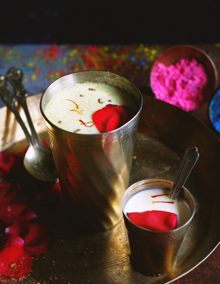 Thandai sherbat with homemade masala