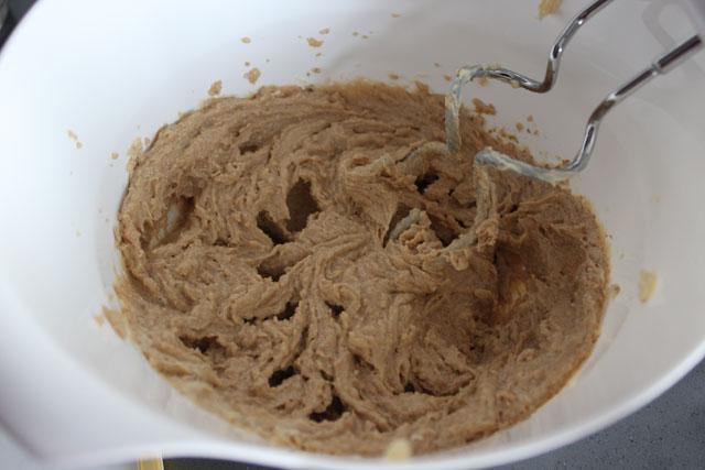 Mezcla de las galletas