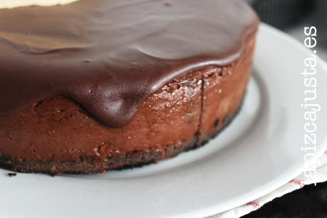 cheesecake de chocolate, la tarta perfecta